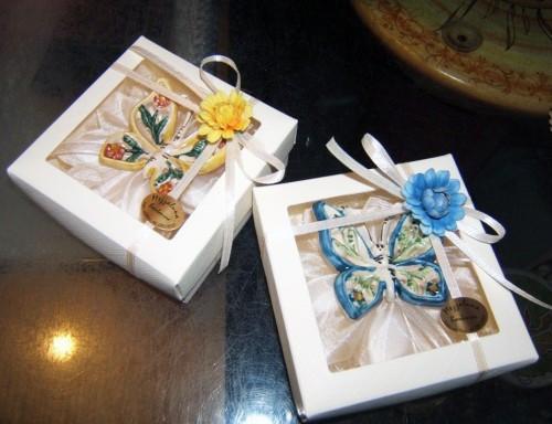 mezzaluna vietri sul mare,confezioni e bomboniere,segnaposto,bomboniere in ceramica,bomboniere artigianali,mezzaluna ceramica vietrerse,mezzaluna bomboniere,matrimonio in costiera amalfitana,matrimonio