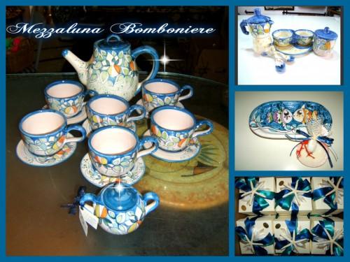 bomboniere artigianali,bomboniere ceramica vietrese,bomboniere ceramica,ceramiche vietri,ceramiche vietrese,ceramica vietrese bomboniere,mezzaluna bomboniere,matrimonio in costiera amalfitana,matrimonio