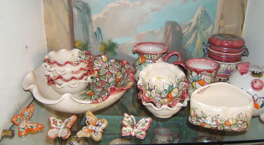 Estremamente Ceramiche Vietrese | MEZZALUNA Vietri Sul Mare - Part 2 AH32