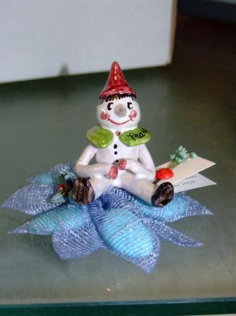 pinocchio in ceramica