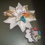 stella magnete decorata